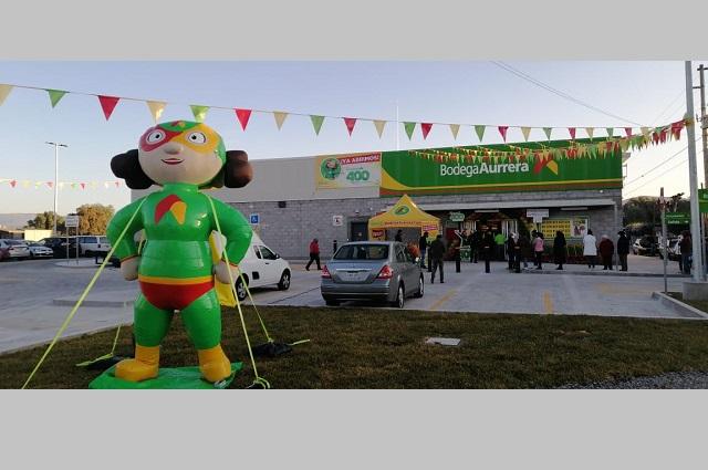 Aurrera inaugura en Puebla su tienda Mi Bodega número 400