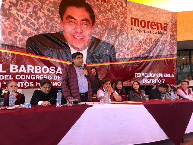 Los poblanos están listos para una nueva elección: Barbosa