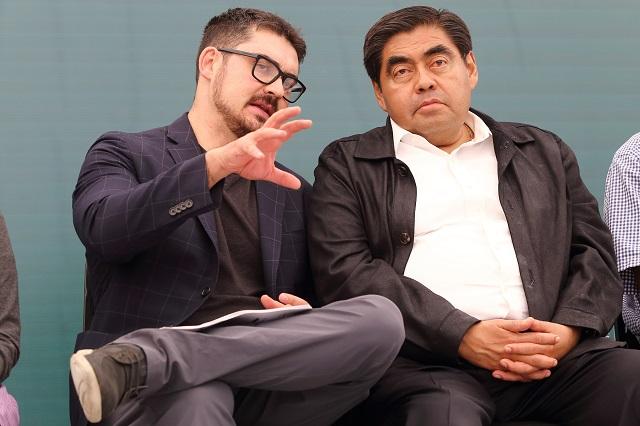 Para reconstrucción en Puebla anuncian gobiernos 4 mil mdp