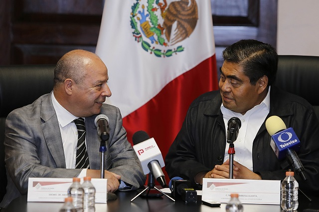 Barbosa Huerta se reúne con embajador de Marruecos