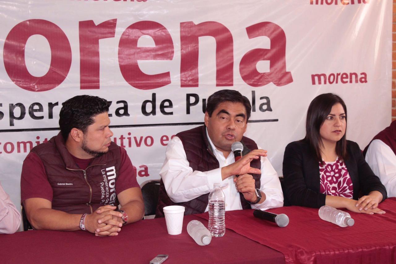 Va Morena por la nulidad de la elección a gobernador en Puebla