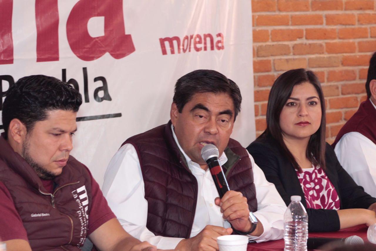 No negociaremos libertad de los militantes de Morena, dice Barbosa