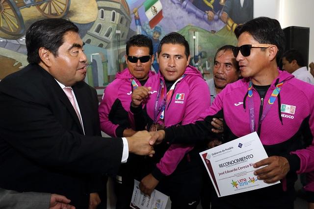 Se apoyará al deporte popular y de alto rendimiento: Barbosa