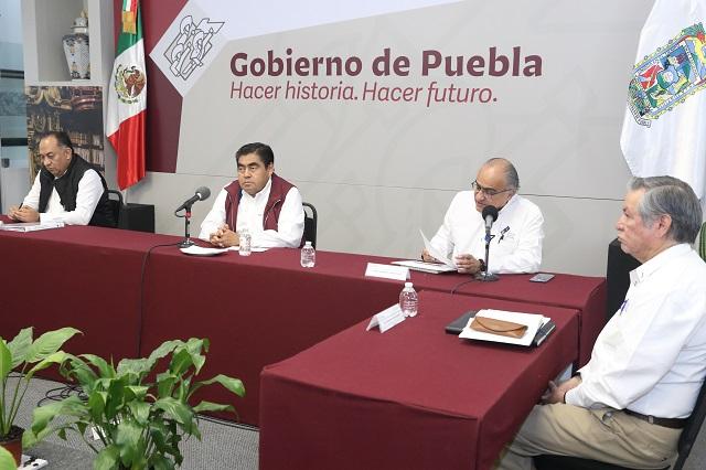Barbosa Huerta anuncia entrega masiva de despensas