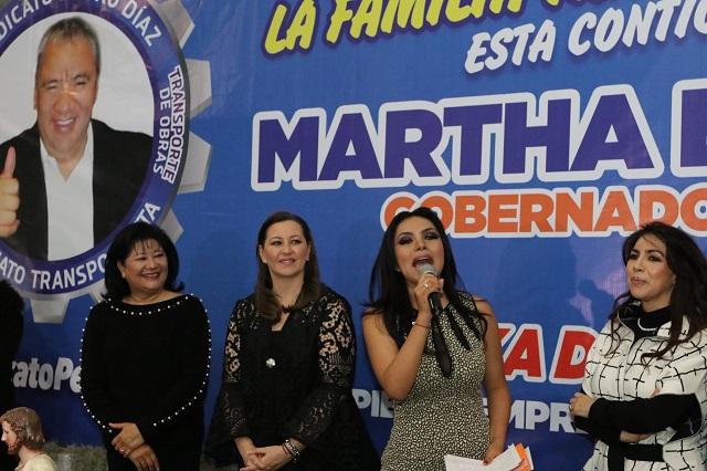 Puebla será sede de la Expo Anam y Expo Transporte: Martha Erika