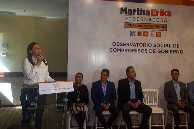 Propone MEAH observatorio que vigile cumplimiento de promesas