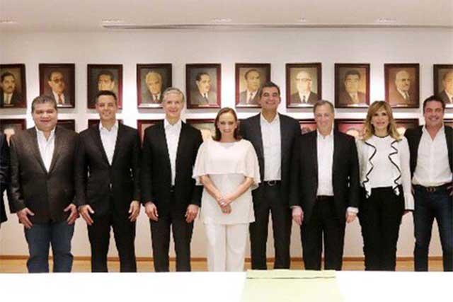 José Antonio Meade se reúne con gobernadores priístas