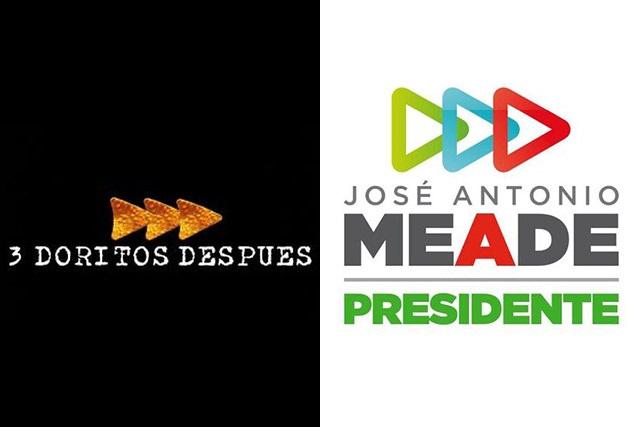 ¿Meade le pirateó el diseño de su logo de campaña a Doritos?
