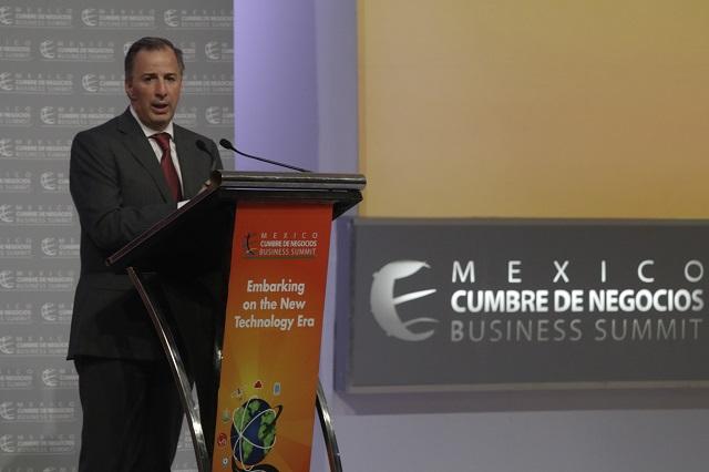 A nadie conviene destruir relación entre México y EU: Meade