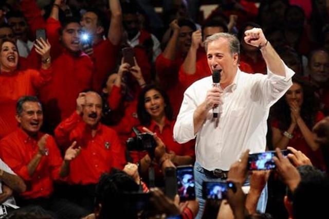 Voy derecho y no me quito hasta ganar la presidencia, dice Meade