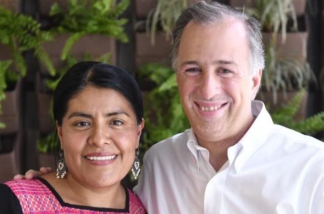Eufrosina Cruz, ex seguidora de Margarita, afirma que le dará su voto a Meade