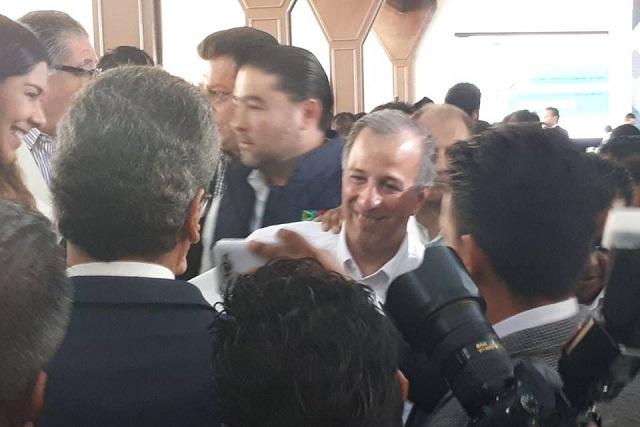 Candidatos de Puebla no están abandonados por el PRI: Meade
