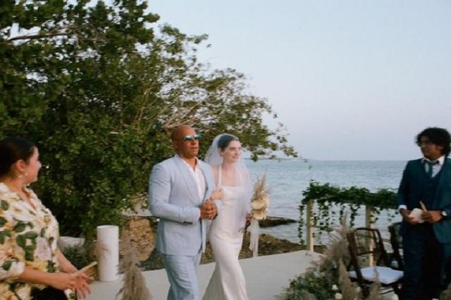 Vin Diesel entrega en el altar a la hija del difunto Paul Walker
