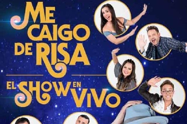 Me caigo de risa viene a Puebla al Auditorio Metropolitano