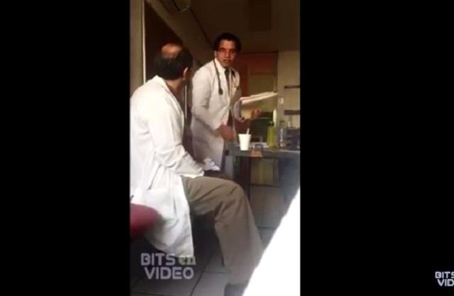 ¡Exhiben a médico del IMSS humillando a residente!