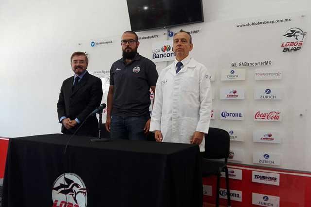 Lobos BUAP lució manta en apoyo a su portero Lucero Álvarez