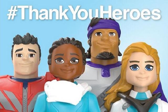Mattel honra a médicos, enfermeras y trabajadores de la salud con muñecos