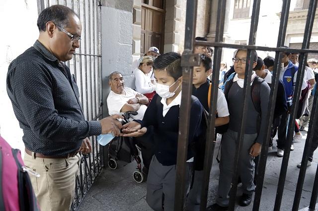 Se amplía hasta el 30 de abril receso en escuelas de Puebla
