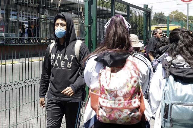 Admiten 12 contagios de Covid-19 en Puebla y analizan otros 35