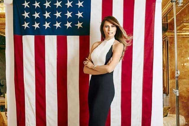Melania Trump, exmodelo y hoy primera dama de EU