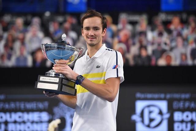Daniil Medvedev hace historia al convertirse en el nuevo N°2 del ranking ATP