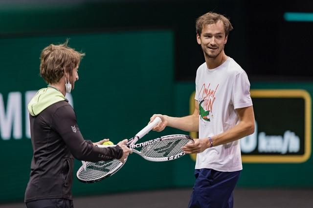Medvedev cae en Rotterdam y pierde el N°2 del Ranking ATP