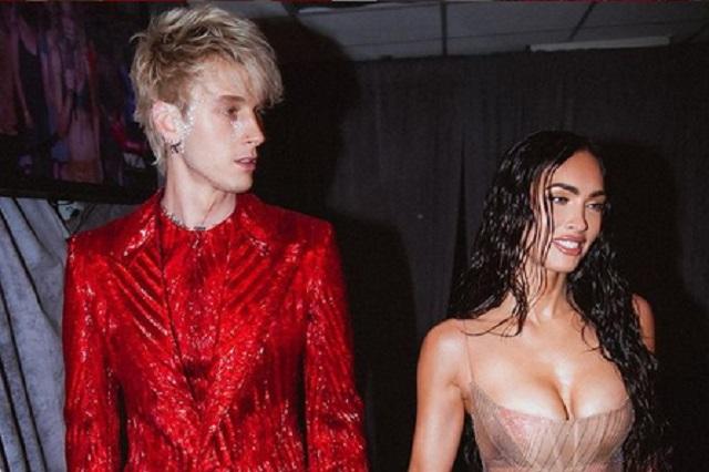 Laura Bozzo usó un vestido transparente como el de Megan Fox