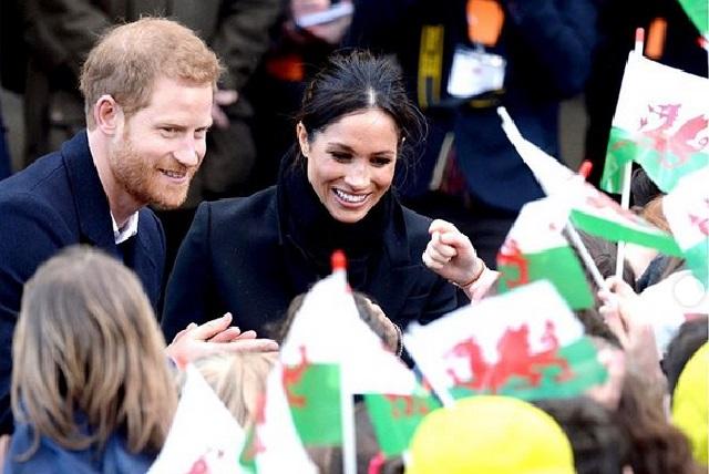 El Príncipe Harry y Meghan se despiden de la familia real con emotivo mensaje