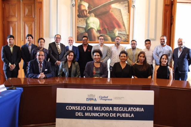 Destaca Ayuntamiento de Puebla avances en mejora regulatoria