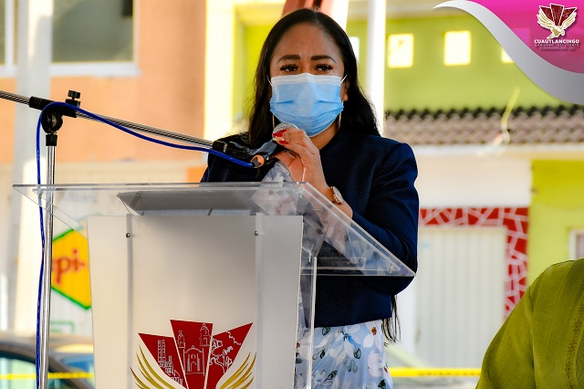 Entrega Lupita Daniel apoyos a 354 familias de Cuautlancingo