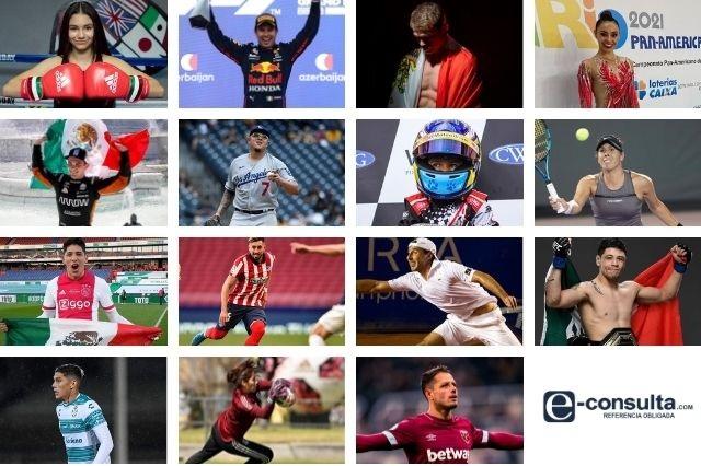 Mexicanos que la están rompiendo en el deporte en este 2021