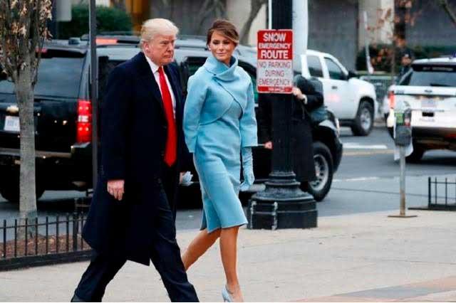 Ralph Lauren viste a Melania Trump como primera dama de EU