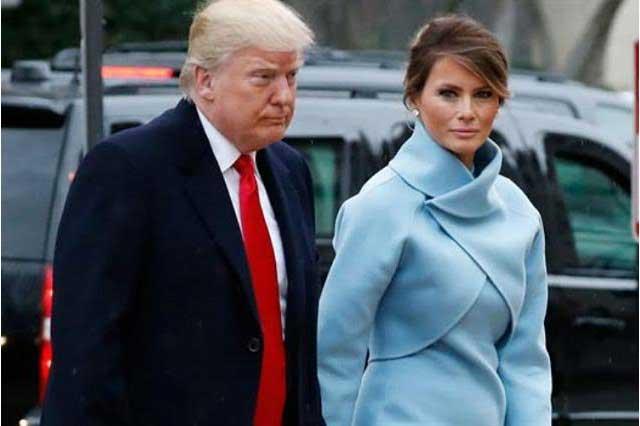 Lenguaje corporal de Melania revela que es entrenada por Donald Trump: especialista