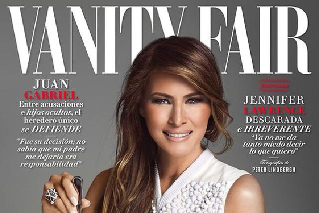 Nadie me controla, dice Melania Trump a Vanity Fair México