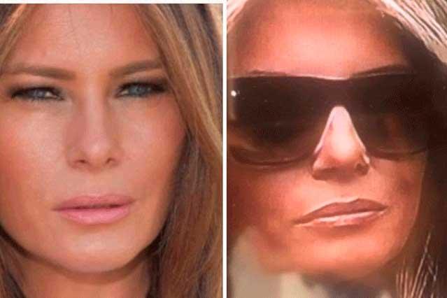 ¿Conspiración? Aseguran que mujer que aparece con Trump no es Melania