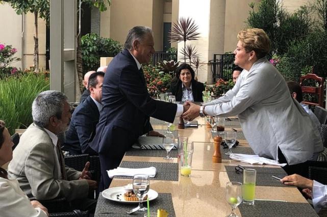 Se despide Melquiades Morales como embajador en Costa Rica