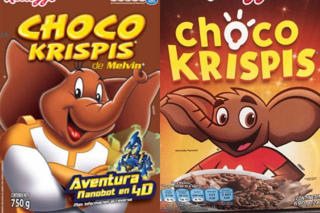 Chococrispis cambia de imagen y los fans extrañan a Melvin