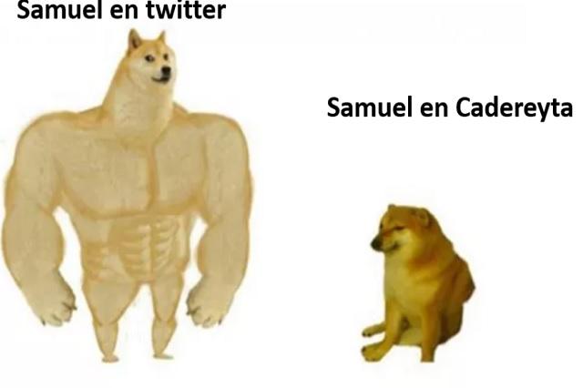 Memes tunden a senador Samuel García que corrieron en refinería de Cadereyta