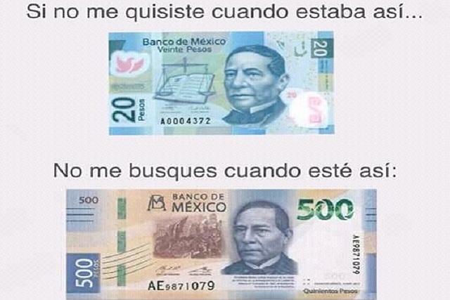Nuevo billete de 500 pesos protagoniza los memes del día