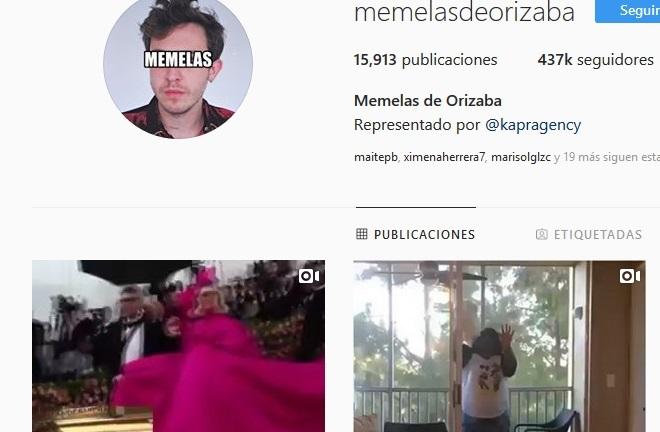 Memelas de Orizaba ataca de nuevo y ya regresó a Instagram