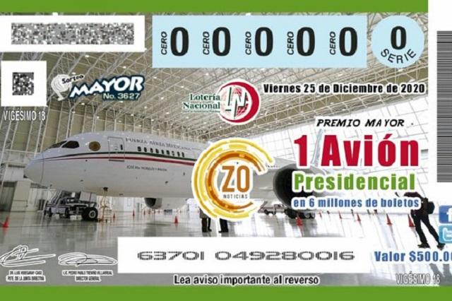 López Obrador inspira memes por querer rifar el avión presidencial