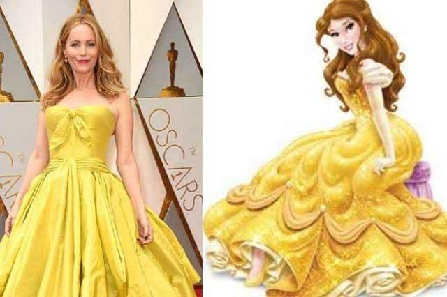 Los vestuarios de los famosos en los Oscar transformados en memes