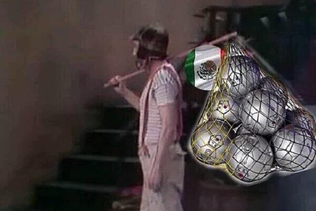 Internautas destrozan con memes a México tras derrota ante Chile