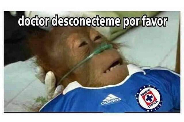 Memes humillan a Cruz Azul y las bromas son crueles