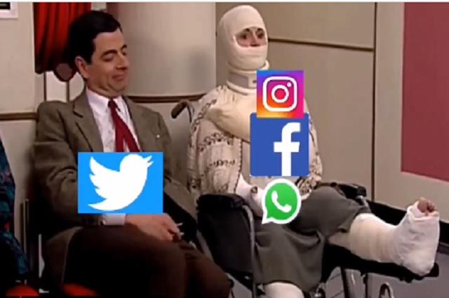 Redes más populares del mundo fallan y memes estallan en Twitter