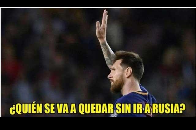 Memes presagian eliminación de Messi y Argentina y victoria de Perú