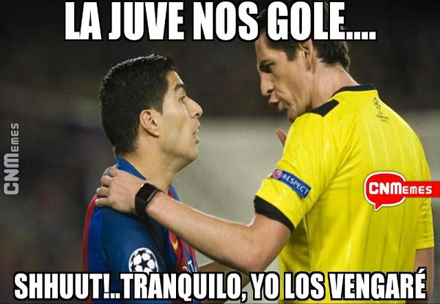 15 memes para burlarse de la goleada de la Juventus al Barcelona