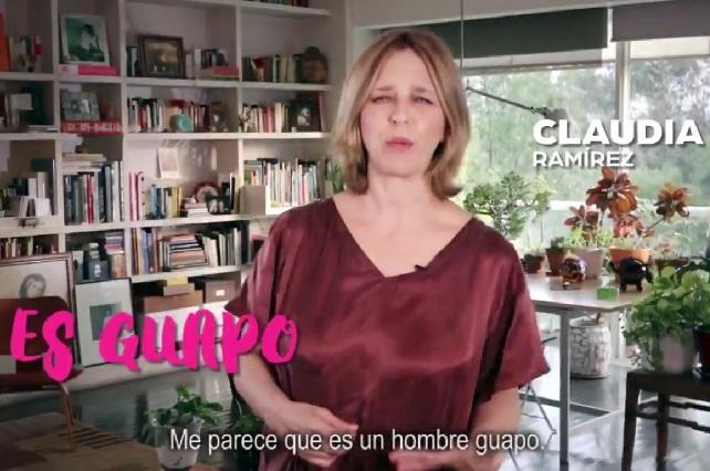 Los memes de actriz Claudia Ramírez y su candidato guapo