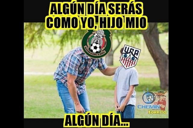 Memes celebran, minimizan y sufren triunfo de México en Copa Oro