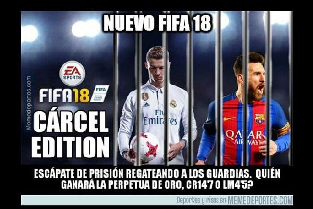 Los memes del presunto fraude fiscal de Cristiano Ronaldo